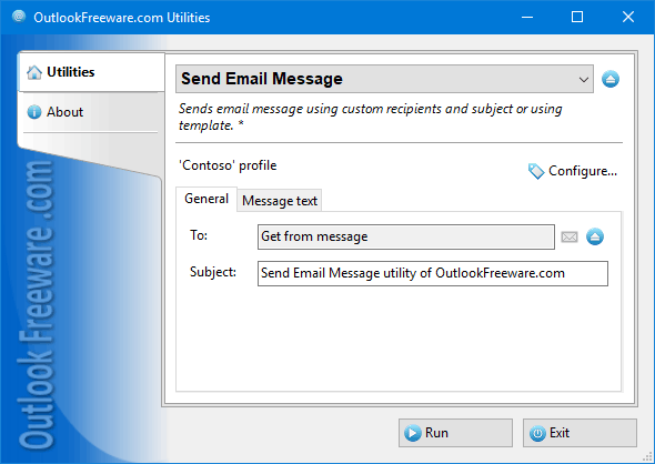 Send Email Message