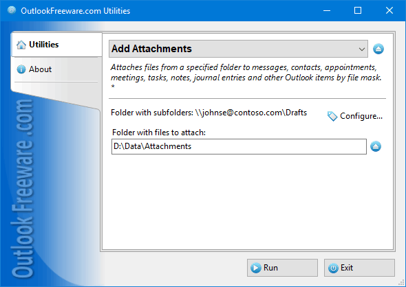 Add Attachments for Outlook