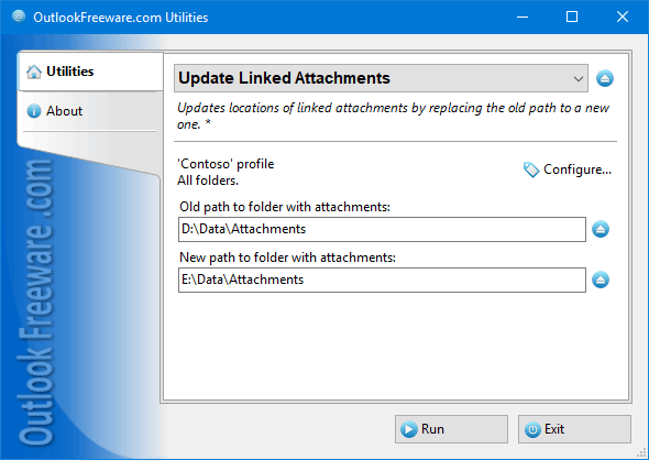 Update Linked Attachments for Outlook