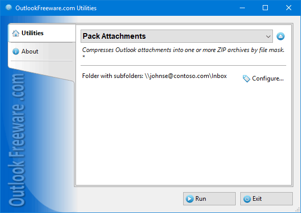Pack Attachments for Outlook